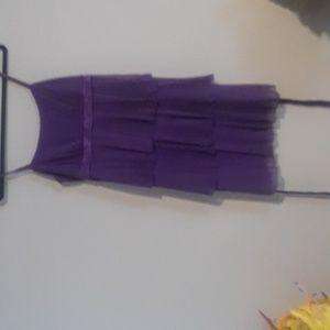 "BCX Silk Skirt (""M"") Purple"